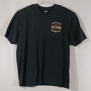 Harley Davidson gray t shirt men's size 2XL